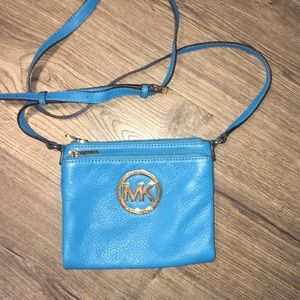Michael Kors Crossbody Purse and Wallet in one